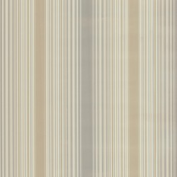 Casco Bay Beige Ombre Pinstripe Wallpaper