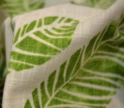 Svenska Green Richloom Fabric
