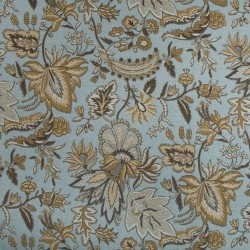 Swank Sea Blue Kasmir Fabric