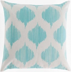 Exquisite in Ikat Green, Tan Pillow | SY023-1818P