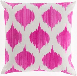 Exquisite in Ikat Purple, Tan Pillow | SY027-1818P