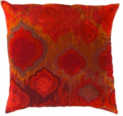 Exquisite in Ikat Red Pillow | SY032-1818P
