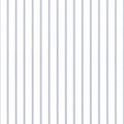 SY33929 Blue Cream Ticking Stripe Norwall Patton Wallpaper