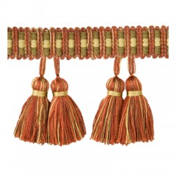 Paired Tassels Antique T30584.924.0 Kravet Trim