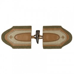 Tyrolean Toggle Loden Kravet Trim