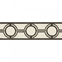 Portal View Graphite Kravet Trim