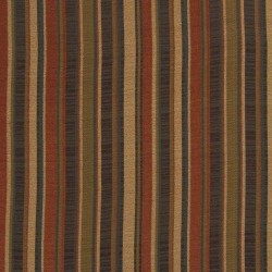 Taos Stripe Chocolate Kasmir Fabric