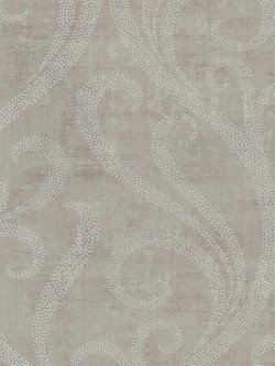 TG52209 Contemporary Architectural Ogee Damask Wallpaper