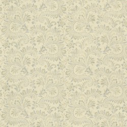 Sycamore Blue Paisley Wallpaper