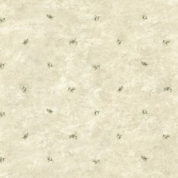Pine Valley Grey Sprig Toss Wallpaper