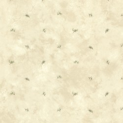 Pine Valley Neutral Sprig Toss Wallpaper