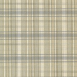 Bluewater Light Blue Sunny Plaid Wallpaper