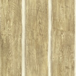 Chinking Maple Wood Panel Wallpaper