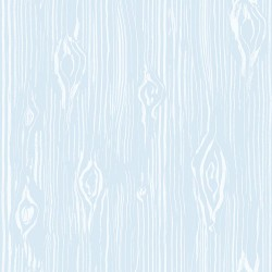 Oaked Blue Faux Wood Grain Wallpaper