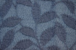 Trailing Vine Denim Golding Fabric