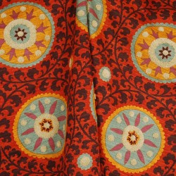 Tribal Threads Sunset Suzani Fabric