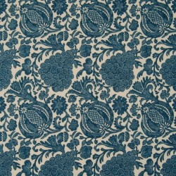 Turtle Bay Indigo Kasmir Fabric