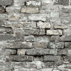 Grey Brick Alley Wallpaper