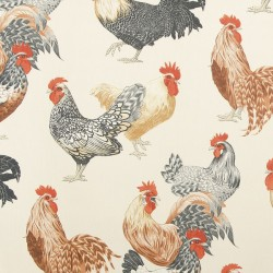 Free Range Black Bird P Kaufmann Fabric