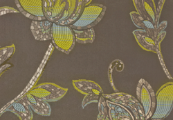 Glamour Silver Lime Eroica Fabric