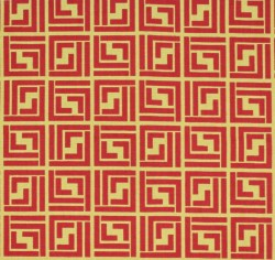Sencha Terracotta Tempo Fabric