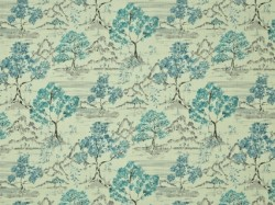 Hikaru Antique Blue Covington Fabric