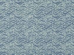 Ziggy Batik Blue Covington Fabric