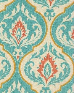 Ragone Teal Swavelle Mill Creek Fabric