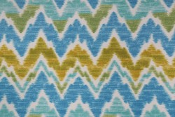Tiago Island Blue Swavelle Mill Creek Fabric