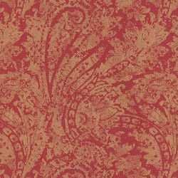 Burnished Scroll Garnet Waverly PK Lifestyles Fabric