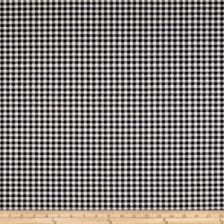 Gingham 406701 Charcoal Waverly PK Lifestyles Fabric