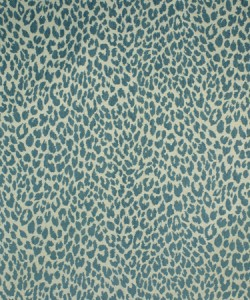 Button Island Teal Barrow Fabric