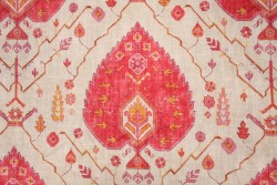 Aubusson Coral Richloom Fabric