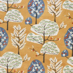 Cora Ginger Regal Fabric