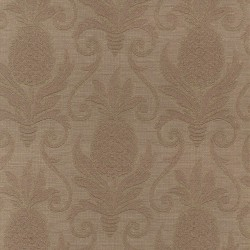 Greetings Taupe Regal Fabric