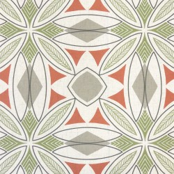 Meyers Coral Regal Fabric