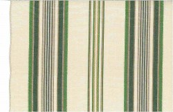 Casablanca Stripe Greens Laura Kiran Fabric