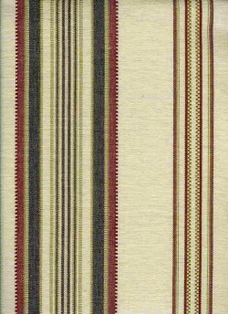 Casablanca Stripe Natural Laura Kiran Fabric