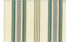 Casablanca Stripe Teal Laura Kiran Fabric