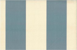 Grand Awning Stripe Chambray Nat Laura Kiran Fabric