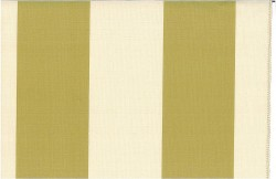 Grand Awning Stripe Citrus Nat Laura Kiran Fabric