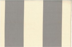 Grand Awning Stripe Gray Nat Laura Kiran Fabric