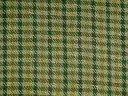 Rothchild Twill Check Taupe Gold Laura Kiran Fabric