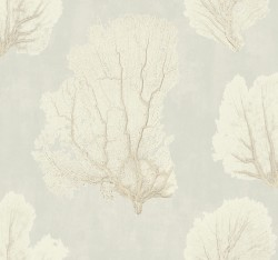 VA1208 Coral Couture Tan Wallpaper