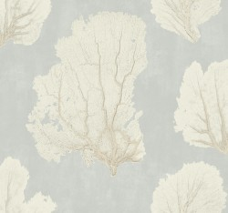 VA1213 Coral Couture Grey Wallpaper