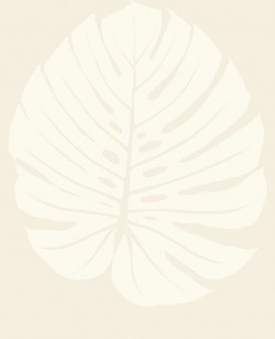 VA1232 Bali Leaf Cream Wallpaper