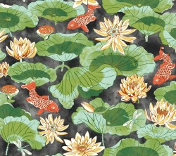 Waverly Classics Volume II Lotus Lake Wallpaper (WC7560_B42)