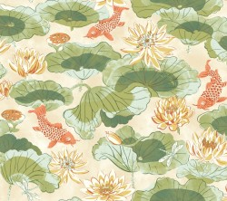 Waverly Classics Volume II Lotus Lake Wallpaper (WC7562_B42)