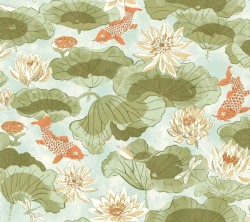 Waverly Classics Volume II Lotus Lake Wallpaper (WC7563_B42)
