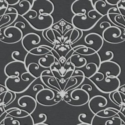 WE4733 Export Dark Grey Wallpaper